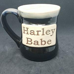 """Tumbleweed Pottery """"Harley Babe"""" 20oz.Mug"""